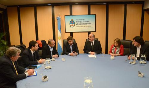 Municipio y el Ministerio de Trabajo de la Nación firmaron un convenio.