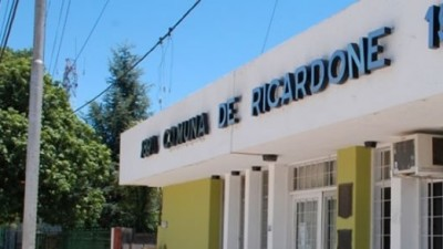 Paro de trabajadores comunales de Ricardone