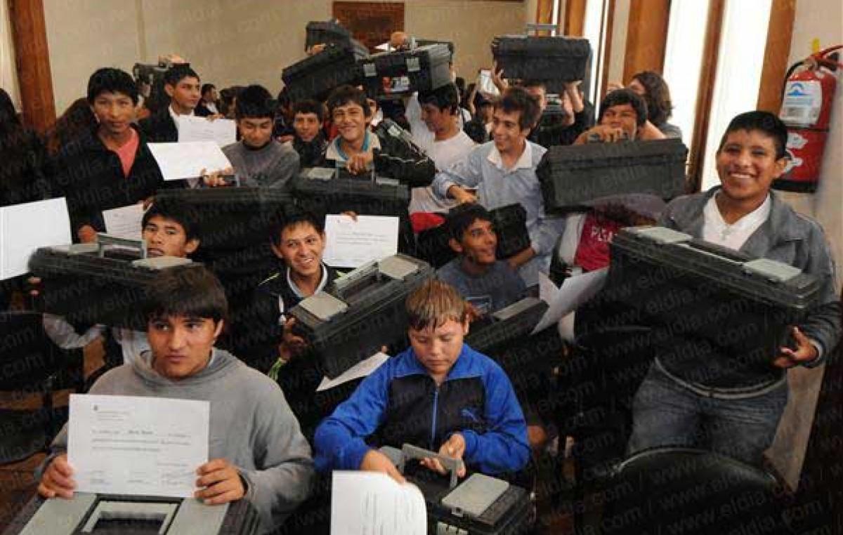 En tres años, se triplicó la cantidad de alumnos en la Escuela de Oficios de La Plata