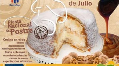 Fiesta Nacional del Postre, Balcarce, 25 al 27 de Julio