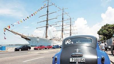 La fragata Libertad visita Cuba luego de 41 años