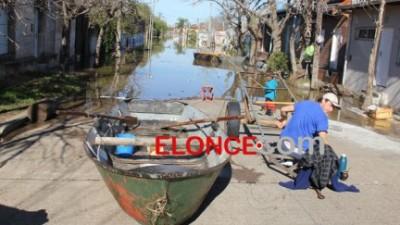 Comenzó a descender el río Uruguay y también el nivel del lago de Salto Grande
