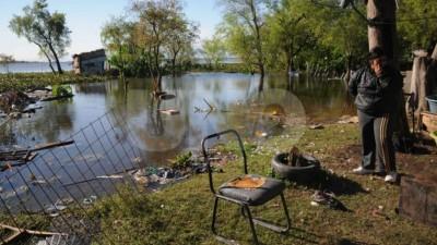 El río Paraná llegó a 5,47 metros y hay 155 personas evacuadas por la crecida del río