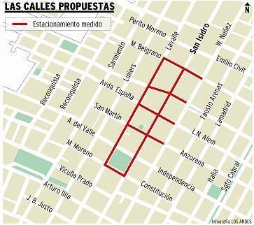 Rivadavia discute estacionamiento medido para las calles de su ciudad