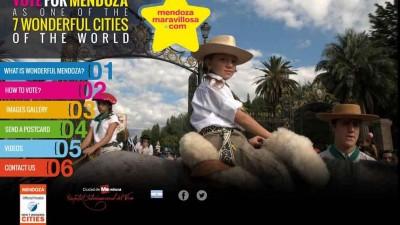 """Hasta el lunes hay tiempo para votar para que Mendoza sea """"Ciudad Maravillosa"""""""