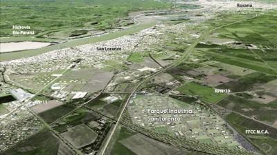 Presentaron el Parque Industrial San Lorenzo