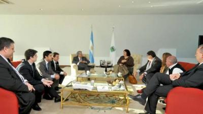 La provincia de San Luis propuso aportar el 50% de la planta de efluentes cloacales para la ciudad