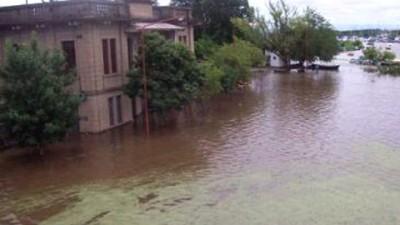 Hay dos mil personas evacuadas en Concordia, Concepción del Uruguay, Colón y San José
