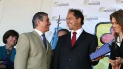 Policía Comunal: Scioli y Di Sabatino firman adhesión en San Vicente