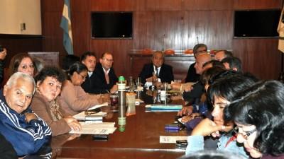 Trabajo no registrado: reunión de Diputados e Intendentes Jujeños