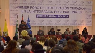 Quedó inaugurado en Bolivia el Foro de Participación Ciudadana
