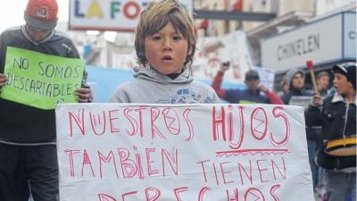 Bahía Blanca: Cartoneros en plan de lucha contra la restricción
