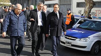 Scioli encabezará la apertura del ciclo lectivo de la Policía Comunal