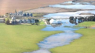 Tres Arroyos: El agua causó pérdidas de unos $ 700 millones