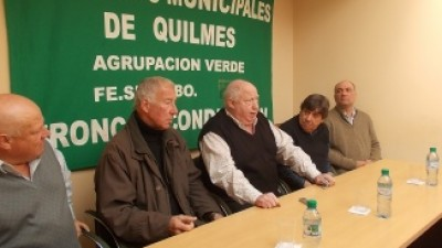 Los municipales de Quilmes no se sumaron al paro de hoy y convocan para septiembre