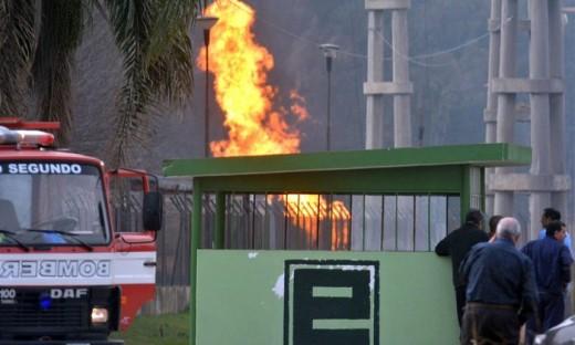 El gasoducto explotó el viernes pasado en jurisdicción de la ciudad de Pilar, en zona aledaña a la Ruta 13.