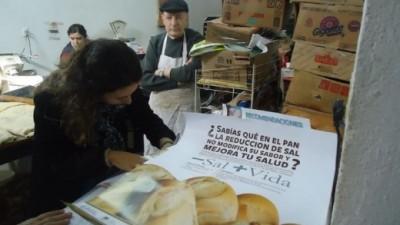 Oncativo es la primera ciudad de Córdoba donde todas las panaderías usan menos sal