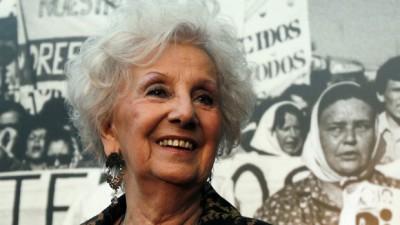 La ONU felicita a Estela de Carlotto por haber encontrado a su nieto