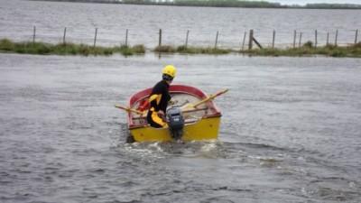 El intendente de Pila sube el nivel de alarma: «La ciudad está sitiada por el agua»