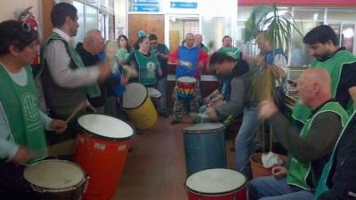 Afiliados de ATE tomaron la Municipalidad de Miramar tras el despido de empleada