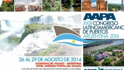 Argentina, sede del mayor evento portuario, Puerto Iguazú del 26 al 29 de agosto