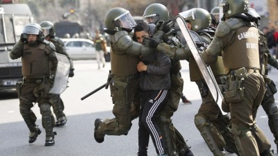 Chile: los estudiantes marcharon contra la reforma educativa
