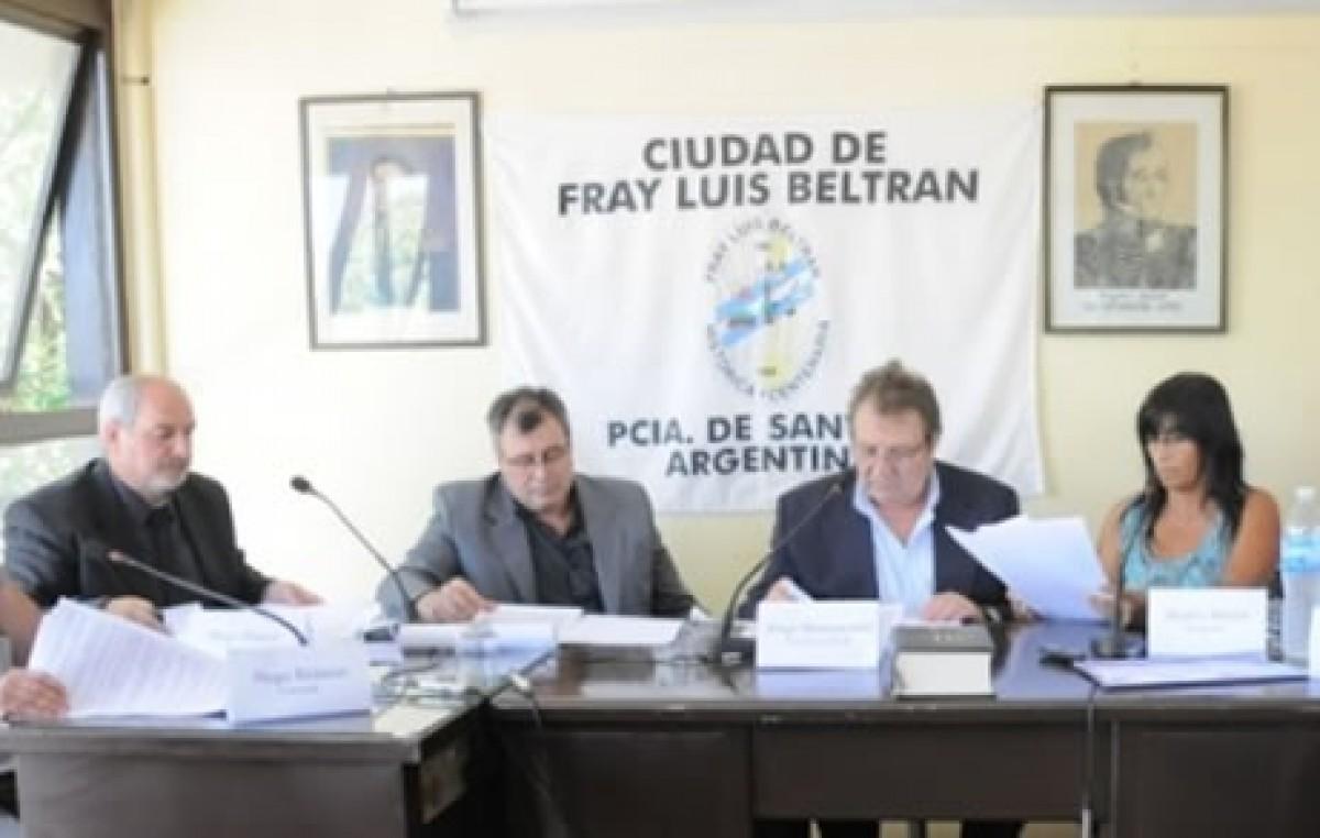 Fray Luis Beltrán: El concejo no sesionará por falta de insumos