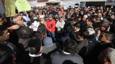 """Para el Sindicato de Municipales del Chaco """"existe una mafia del cemento"""""""