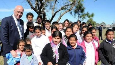 Gobernador de Santa Fe encabezó el acto de creación de una nueva Comuna