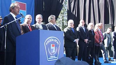 Scioli inauguró la primera Escuela de Policía Local en Lomas