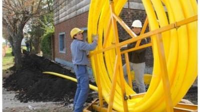 Ejecutan obras de gas natural en 19 localidades entrerrianas por 98 millones de pesos