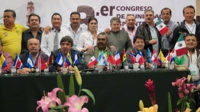 Trabajadores Municipales tienen su Confederación Latinoamericana