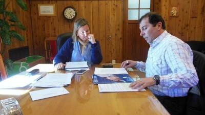 Planifican acciones sociales entre la comuna de Bariloche y el Ministerio de Desarrollo Social de la Nación