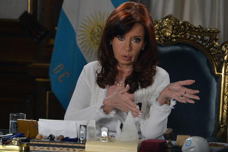 Cristina anunció el envío de un proyecto de ley para el pago soberano de la deuda externa