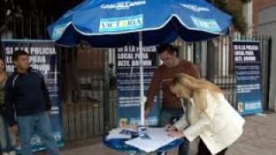 San Isidro, San Fernando y Escobar juntan firmas para adherir a la Policía Comunal