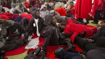 Ola migratoria sacude el sur de España