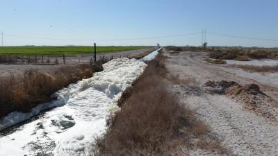 Mendoza lidera en el país el riego de cultivos con líquidos cloacales tratados