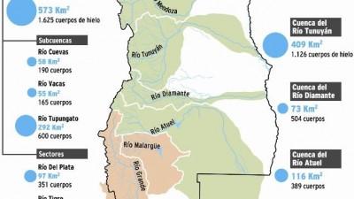 Avanza el censo de glaciares y ya se han detectado 1.171 km2
