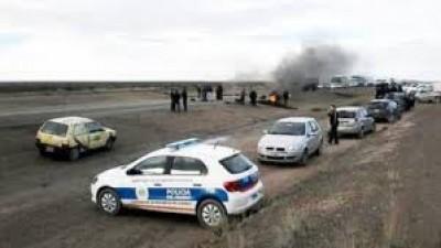 Puerto Madryn :Trabajadores municipales cortaron la ruta Nº 3