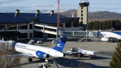 El aeropuerto de Bariloche renueva su fachada e instala nuevo equipo meteorológico