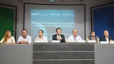 """Sáenz Peña: """"El rol de los intendentes y concejales es central para orientar el ordenamiento del territorio"""""""