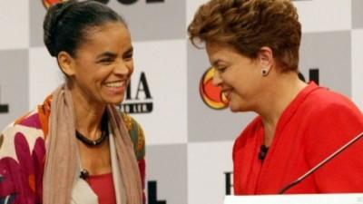 Marina Silva amenaza eventual segunda vuelta de Rousseff