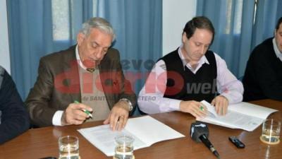 Acuerdo entre Sunchales y Termas de Río Hondopara impulsar el desarrollo económico