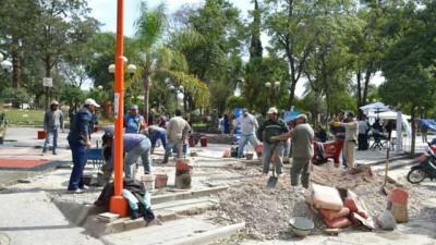 El SEOM valora las condiciones en que se encuentra el empleado municipal de San Pedro
