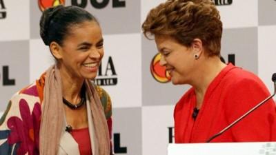 Las clases sociales altas prefieren a Silva en Brasil y los pobres van con Rousseff