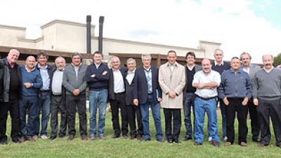 Intendentes del G30 se reunieron en Cañuelas