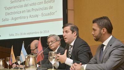 Salta reafirma su liderazgo en la implementación del voto electrónico