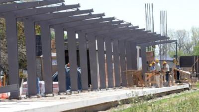 Nueva estación en Rosario: confían en que la fase inicial de la obra concluirá en diciembre