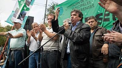 Buenos Aires: García criticó la abstención del FR sobre el proyecto por paritarias