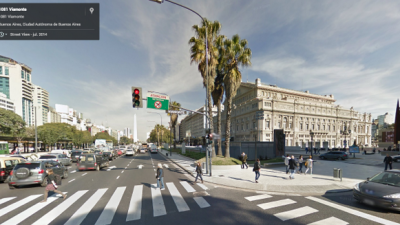 Google Street View llegó a Argentina